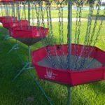 Frisbeegolf sopii hyvin tykypäivän lajikokeiluihin.